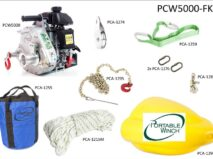 Spillwinde Portable Winch Set PCW5000-FK
